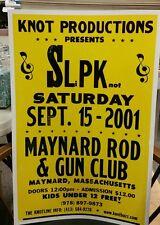 Slip Knot....Block Print Concert Poster Maynard,M.A.