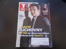 David Duchovny - TV Guide Magazine 2015
