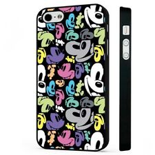 Colourful Mickey Mouse Disney BLACK PHONE CASE COVER fits iPHONE