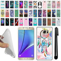 For Samsung Galaxy Note 5 N920 TPU SILICONE Soft Protective Case Cover + Pen