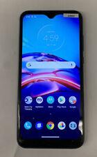 Motorola Moto E (2020) - 32GB - Midnight Blue METROPCS Cracked Screen Clean Esn