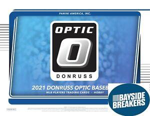 New York Mets 2021 Panini Donruss Optic Baseball Half Case (6 Box) Break #3