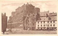 BR61186 edinburgh castle from grassmarket chariot   scotland