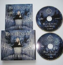 ⭐signierte DELUXE EDITION 2 CD ⭐ LEITBILD ⭐ BLUTENGEL ⭐ Chris Pohl Autogramm  ⭐
