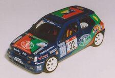 RENAULT CLIO Gr A DAMIOLI  RALLY MARCA TV  1998 DECALS SERIGRAFIA 1/43