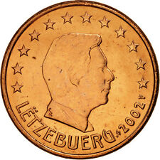 [#461287] Luxembourg, 5 Euro Cent, 2002, SPL, Copper Plated Steel, KM:77
