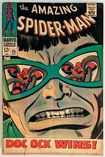 New ListingAmazing Spider-Man #55 Vg, classic  Doc Ock cover, Stan Lee & John Romita