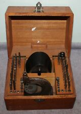 VINTAGE BOLEY WATCHMAKERS STAKING TOOL SET IN BOX