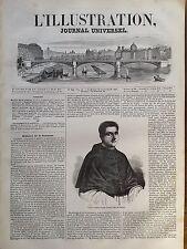 L'ILLUSTRATION 1847 N 244 S.E.LE CARDINAL LUIGHI CIACCHI, LEGAT DE FERRARE (Ital