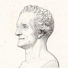 Portrait XIXe Jean-François Collin d'Harleville Mévoisins Eure-et-Loir Théâtre