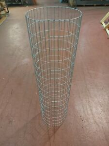 "10x Pack Tree Guards Wire Mesh 48""/122cm High x 12""/30cm Diameter 3"" x 1"" mesh"