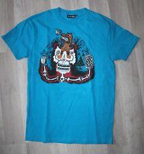 Original  Tee Shirt Slim  VOLCOM bleu  - 14 ans  neuf