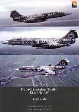 "Dutch Decals 1/32 F-104G STARFIGHTER ""GRAFFITI"" Scheme Dutch Air Force"