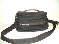 Tamrac Camera Bag Case With Shoulder Strap and Waist Strap Black
