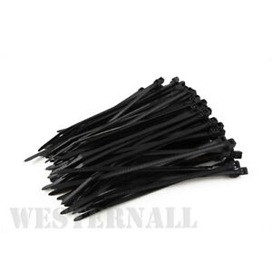 100 Cable Ties Zip Tie Wraps Strong Nylon Various Sizes & Colours 3 FOR 2 OFFER