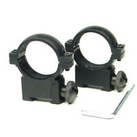 """Tactical QD 1"""" 25.4mm Low Profile Scope Ring Mount Fit 11mm Rail For Hunting"""