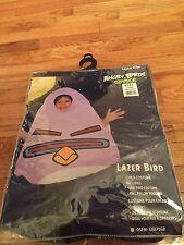 Lazer Bird Child Standard Costume One Size NEW Angry Birds Space Purple  #251