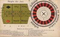 Postcard Casino Monte Carlo Roulette Bank