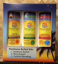 Hawaiian After Sun Lotions - Sunburn Relief Kit - Paradice After Sun