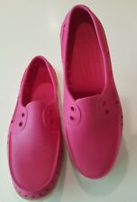Native  W 8 M 6 Howard dark pink slip on loafers boat shoes