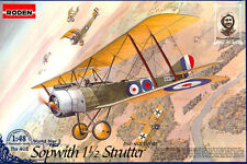 Sopwith 1 1/2 Strutter (two-seat fighter) << Roden #402, 1:48 scale