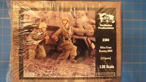 Verlinden 2304 DAK running WW II - NEU,1:35