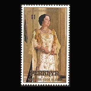 Penrhyn, Sc #117, MNH, 1980, Queen Elizabeth's 80th birthday,  AR5FFA-A