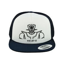 Mazinger Z / Tranzor Z Baseball Cap, Trucker Hat (Navy/White)