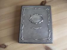 ANTIQUE HALLMARKED SILVER ADDRESS NOTE BOOK Birmingham 1993