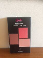 Sleek Face Form Contouring And Blush Palette light