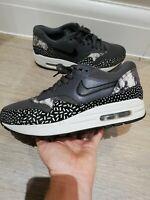 Women's Nike Air Max 1 'Sprinkle Pack' Grey Black White Trainers UK 5 US 7.5