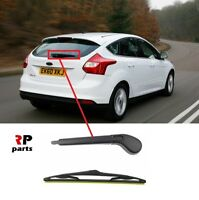 FOR FORD FOCUS MK3 HB 2011-2014 NEW REAR WIPER ARM WITH 305 MM BLADE