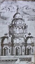 Section,Church of Sainte-Anne-la-Royale,Par is, France, Magic Lantern Glass Slide