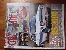 $$µ Revue Gazoline N°88 Ford Escrot RS 2000  Opel Manta  Peugeot 172 BS  Simca