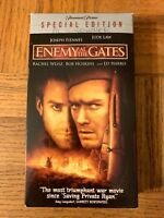 Enemy At The Gates Vhs