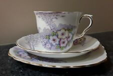 Colclough Cup, Saucer and Side/Bread Plate Trio Made in England