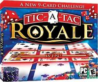 Tic-A-Tac Royale PC Games Windows 10 8 7 XP Computer solitaire card game NEW