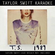 TAYLOR SWIFT KARAOKE Original Audio Music CD Hits Tracks Brand New Sealed