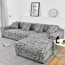 Sofa Cover Sectional Chair Cover Need Order 2pc Sofa Cover L-shape Elasticity