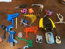 Vintage  Action Figure Weapons Guns Accessories Lot .