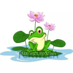 Frog Lily Pad Metal Cutting Die Scrapbooking Embossing Dies Stencil Card Crafts