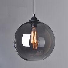 Hanging Glass Globe Light Ball Ceiling Lamp Shade Pendant Lighting Loft Cage Bar