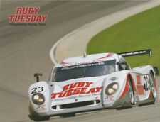 2007 Alex Job Racing Porsche Daytona Prototype DP Grand Am postcard