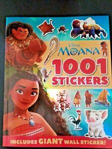 Disney: Moana 1001 Sticker Book New