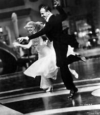Fred Astaire And Ginger Rogers Dancing And Smiling 8x10 Picture Celebrity Print