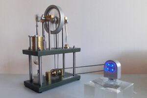 a310 Stirling Motor Ur-Stirling Engine LED Antriebsmodell Heißluftmotor