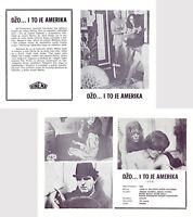 JOE Original VERY RARE MINT EXYU Movie Program 1970 PETER BOYLE SUSAN SARANDON
