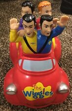 2003 Wiggles Push Top Wiggle and GIggle Musical Singing Big Red Car Toot Toot