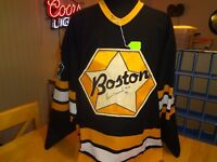 BOSTON BRUINS GAME WORN JERSEY
