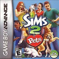 Sims 2: Pets (Nintendo Game Boy Advance, 2006) CART ONLY
